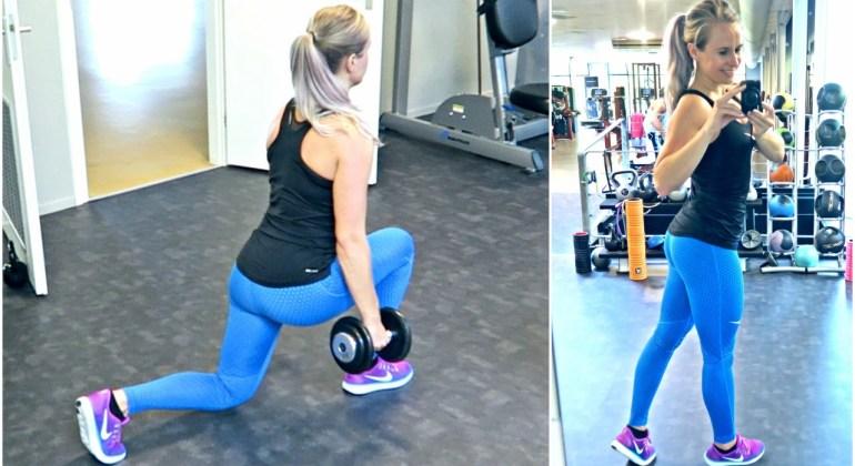 workout billen in sportschool