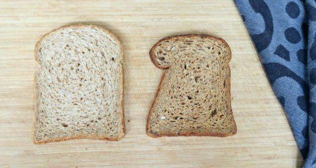 normaal brood vs koolhydraatarm brood