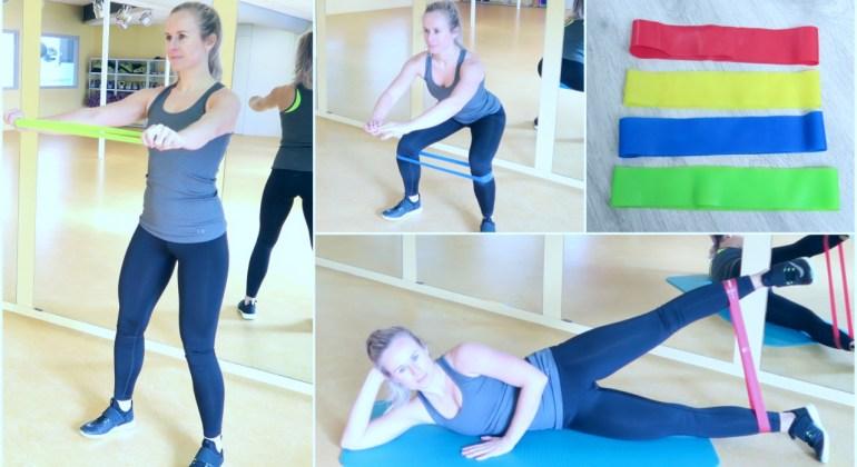 Oefeningen met een elastiek