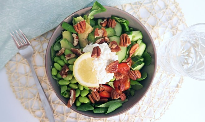 Gezonde salad bowl