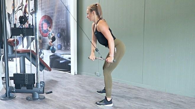 Voorbeeld fitness schema