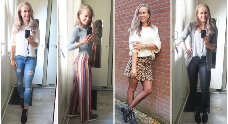 Outfits van een week