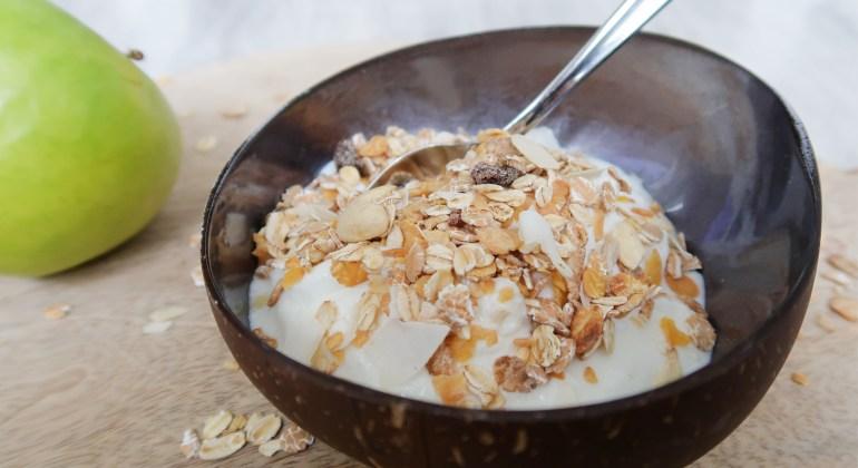 kwark muesli ontbijt