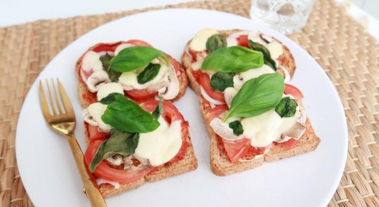 pizza boterham