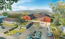 HÔPITAL SAINT GEOIRE EN VALDAINE | Construction de Dalle Pleine | Ouvrage public