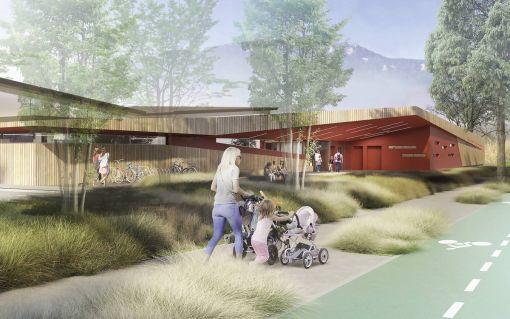 CENTRE NAUTIQUE INTERCOMMUNAL | PONTCHARRA | Construction Dalle Pleine | Ouvrage publics