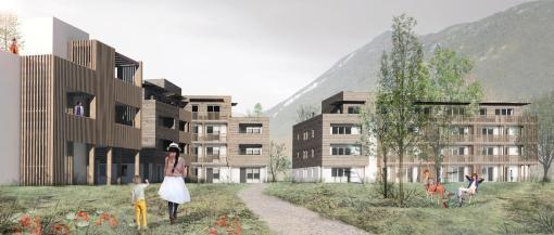 SAINT VINCENT – CHALLES-LES-EAUX | Construction Dalle Pleine & Prédalle | Logements