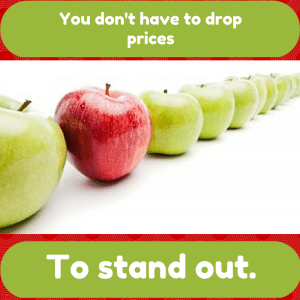 Marketing Mistake: Dropping Prices to Stand Out