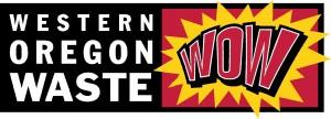 business names as Western Oregon Waste logo