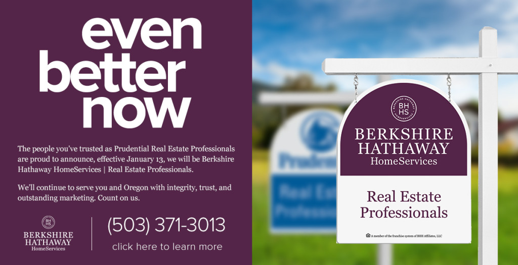 Berkshire Hathaway Real Estate Professionals new brand launch media