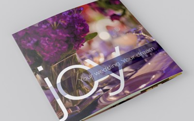 Wedding brochure captures Gold Award