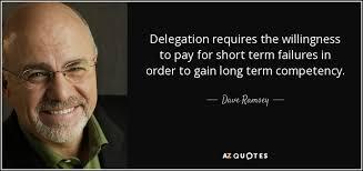 Apprendre à déléguer
