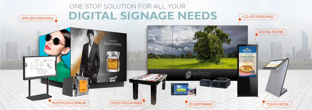 medium resolution of optimum technology digital signage and led based display solution provider in pakistan