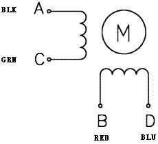 Stepper Motor: Bipolar, 200 Steps/Rev, 20×30mm, 3.9V, 0.6