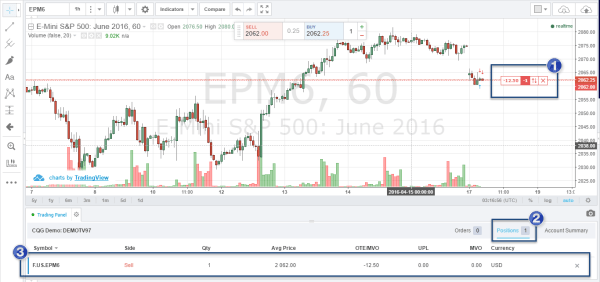 Tradingview live_trade