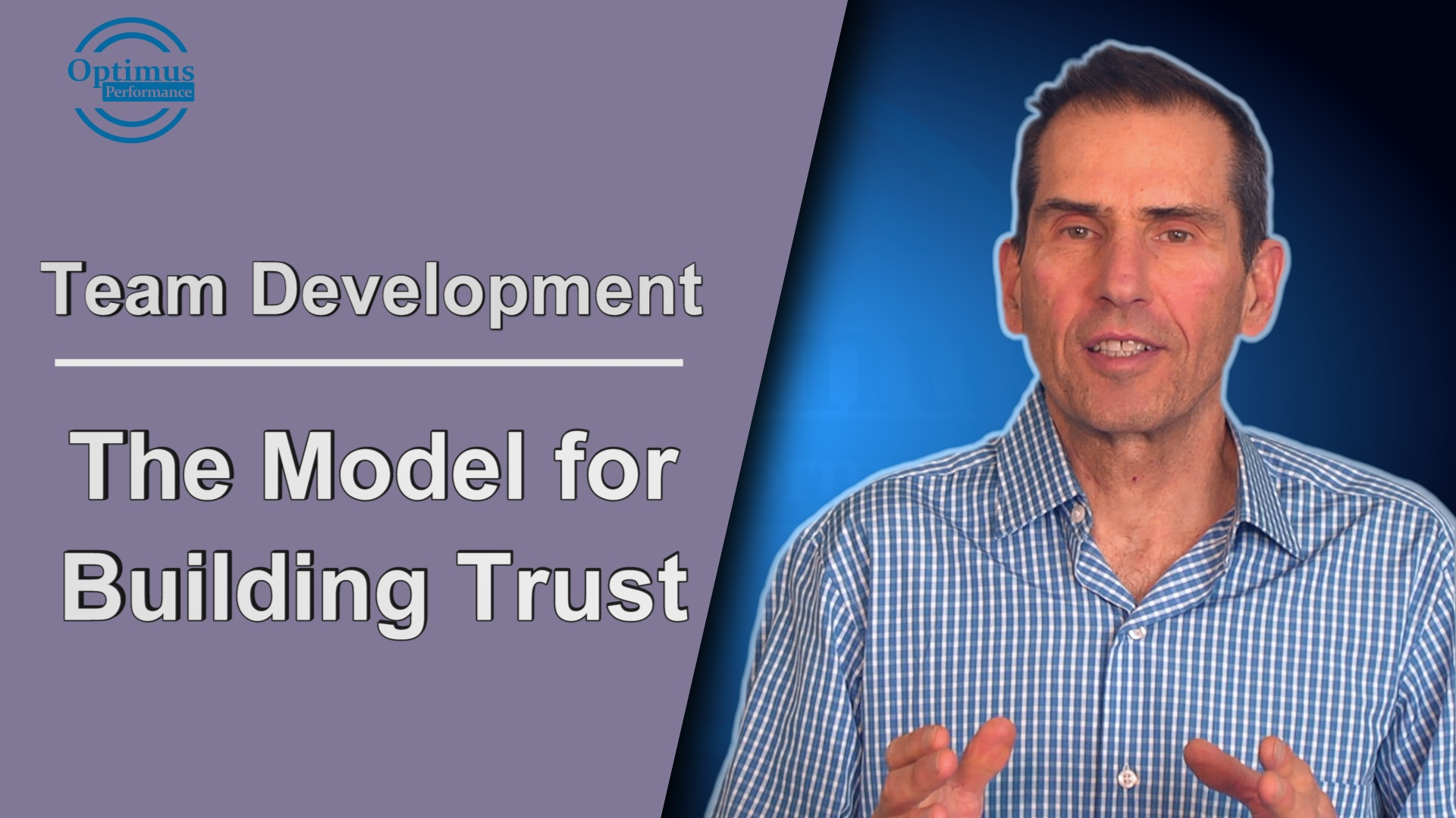 The Model For Building Trust In Teams