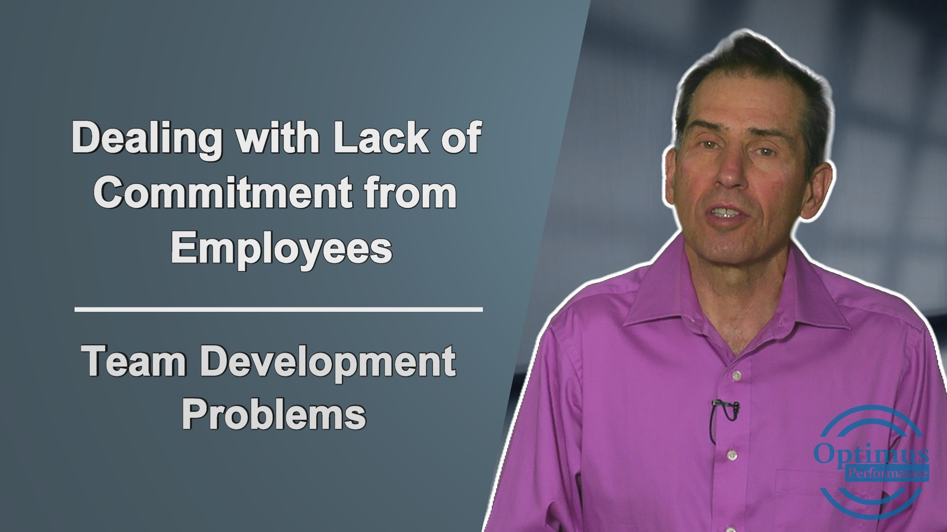 Dealing With Team Problems Lack Of Commitment From Team