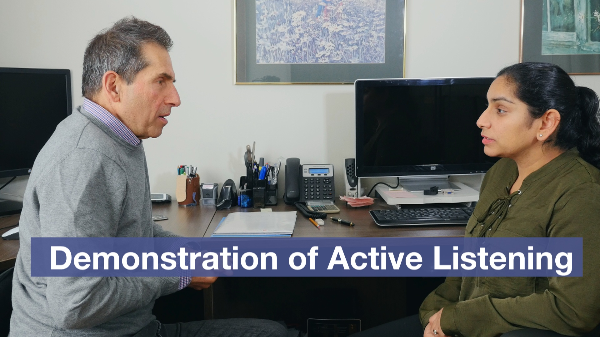 Active Listening Demonstration