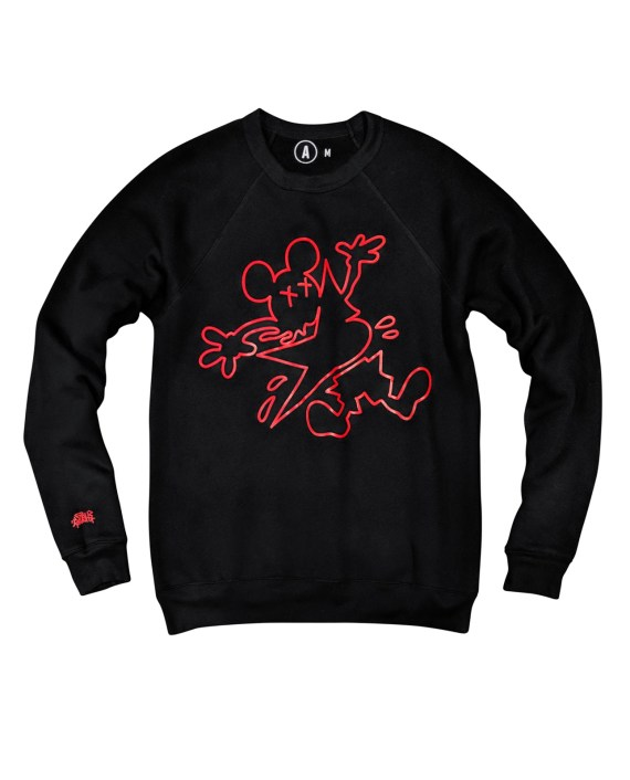 option-a-nyc-raglan_crew-slash_crime_scene-black-front