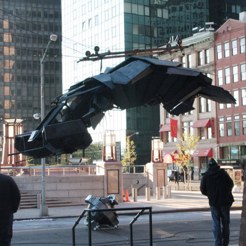 BatWing in The Dark Knight Rises