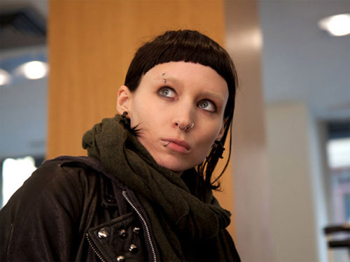 Rooney Mara, Lisbeth Salander, The Girl with the Dragon Tattoo
