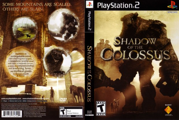 Shadow Of The Colossus COVER