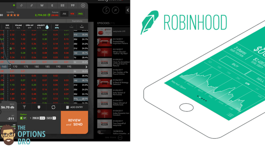 tastyworks vs Robinhood