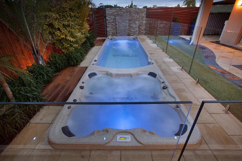 Swim Spa Einbau SwimSpa Pool einbauen