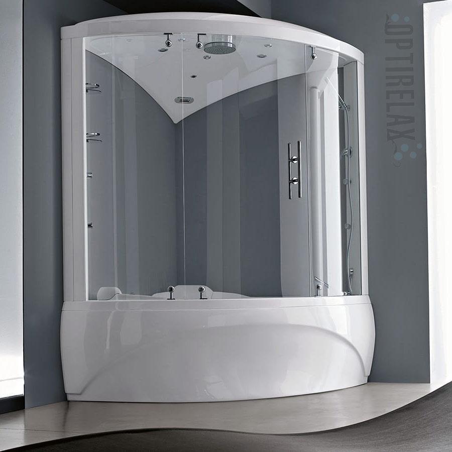 Eckbadewanne mit Dusche  Optirelax Blog