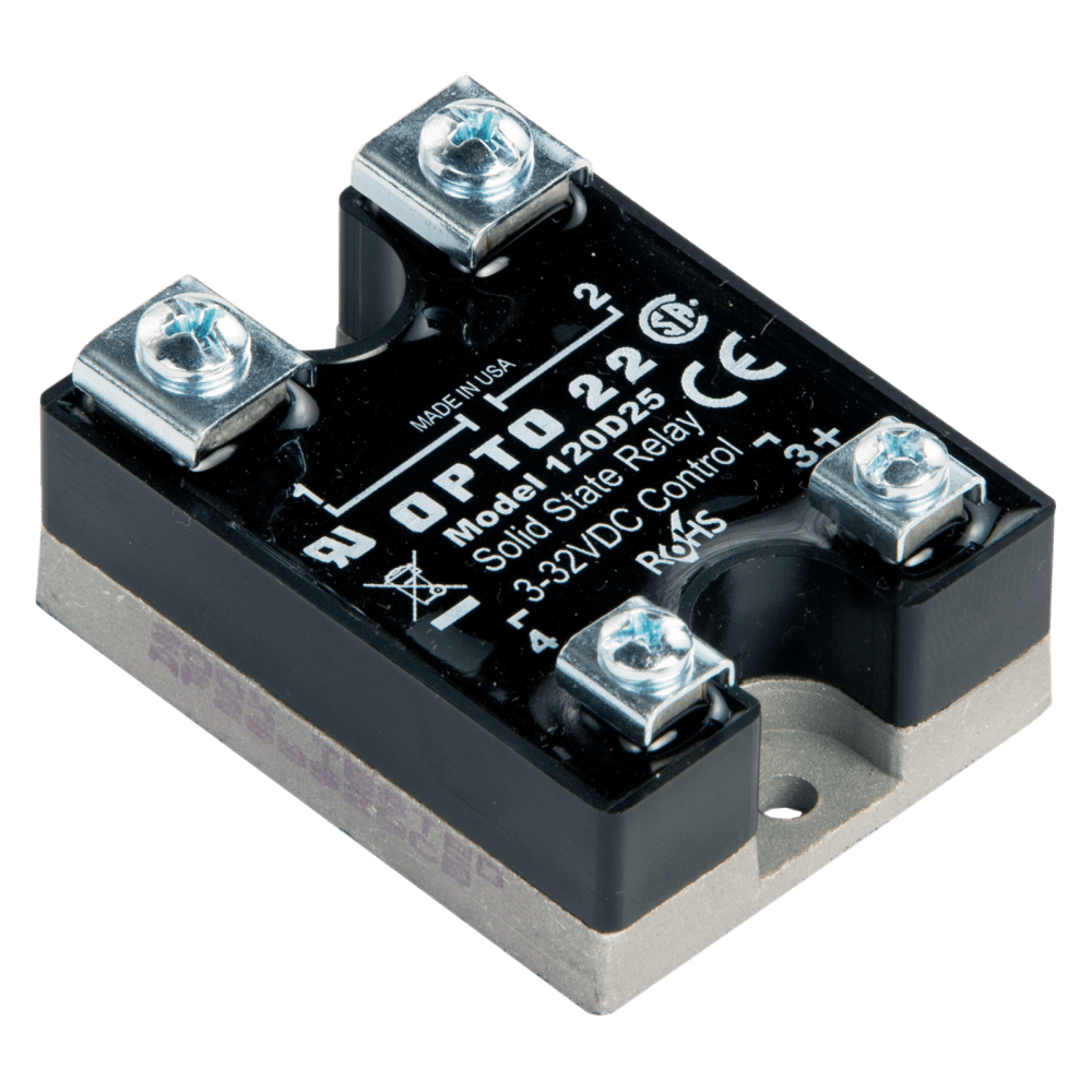 medium resolution of opto22 120d25 120 vac 25 amp dc control solid state relay ssr corsica wiring diagram opto 22 ssr wiring diagram