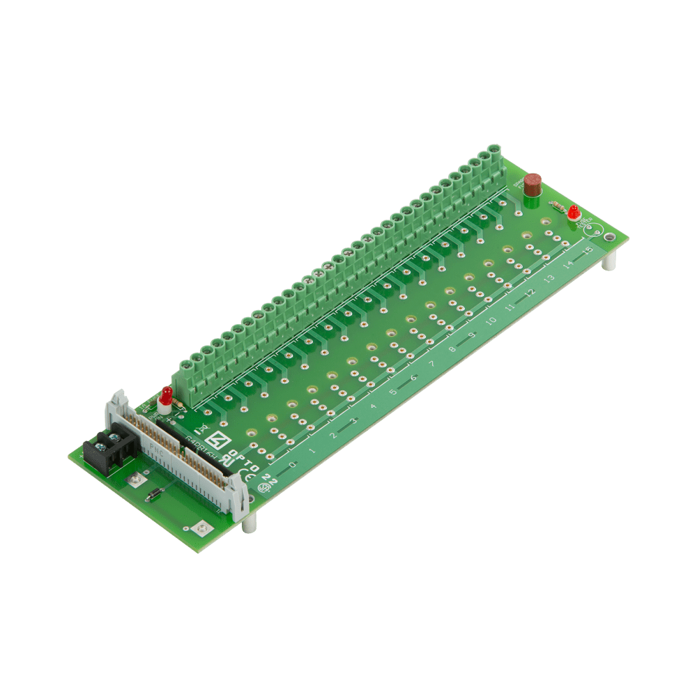 medium resolution of opto22 g4pb16h g4 16 channel mounting rack with header connector abb wiring diagram opto 22 wiring diagram