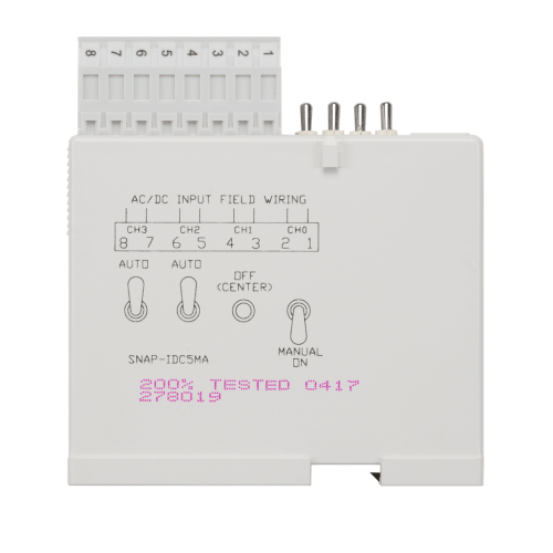 small resolution of opto22 snap idc5ma snap 4 ch isolated 10 32 vdc vac digital previous pilz safety relay wiring diagram