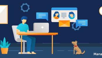 Remote work: Governing and guiding end users