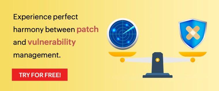ManageEngine / ManageEngine Vulnerability Manager Plus / patch and vulnerability management / vulnerability manager plus