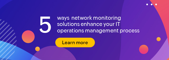 Boosting performance with network monitoring solutions