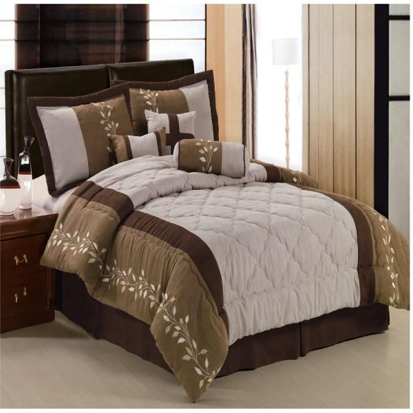 Port Creek Micro Suede Comforter Set