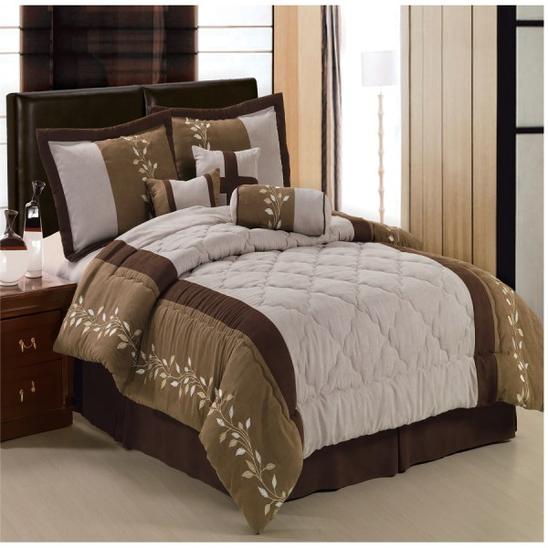 Microsuede King Comforter Set