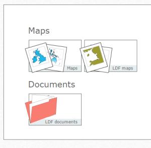 OpusMap CMS homepage