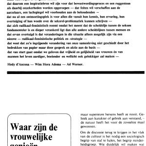 De digitale editie van de legendarische eerste twee nummers van OPZIJ uit 1972. Bestel 'm hier