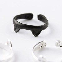 katten-ring-cat-ears-zwart-en-zilver
