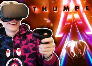 Thumper Demo on Oculus Quest