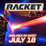 Racket Nx Coming To Oculus Quest On July 18th Oculus