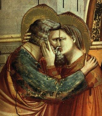 Giotto - Il bacio di Anna e Gioacchino