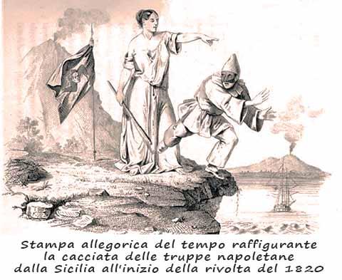 Rivolta siciliana 1820. Quella non è la nostra coccarda!