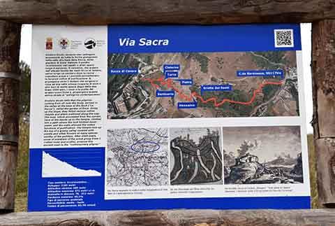 Via Sacra, un'escursione sotto la Rupe di Cerere