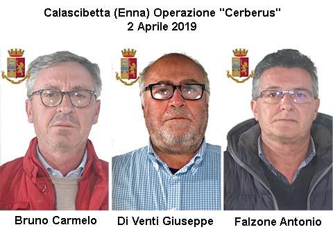 Calascibetta Operazione Cerberus