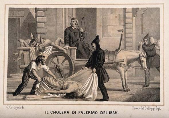 Colera in Sicilia nel 1837