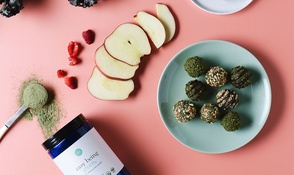 Superfood Green Detox Balls