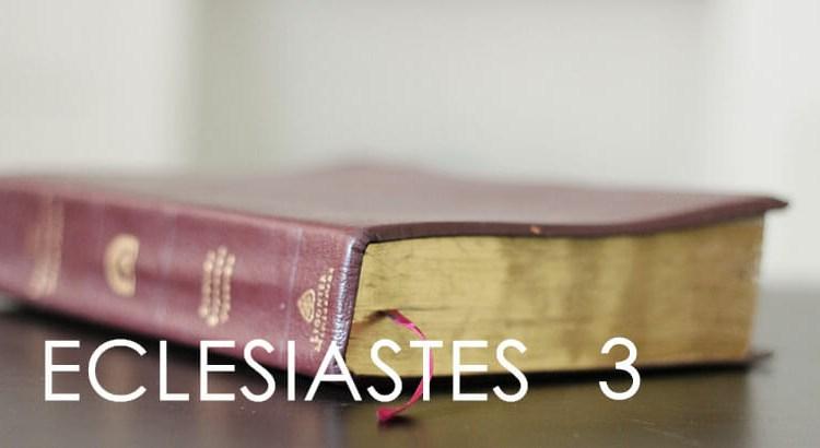 ECLESIASTES 3
