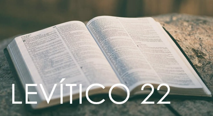 LEVÍTICO 22